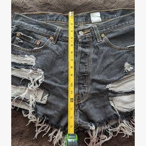 Levi's Shorts - Custom Levi's Cutoff Shorts - W38
